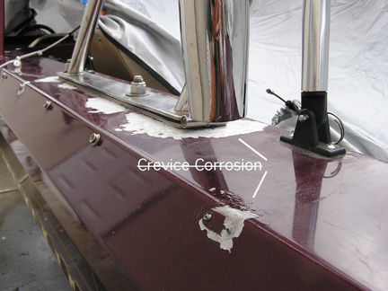 how to clean salt corrosion off aluminum