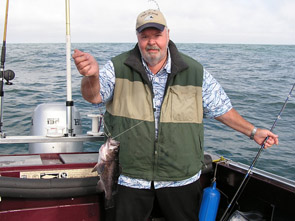 Bill Shelton with rockfish